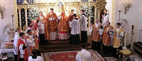 Католицьке свячення